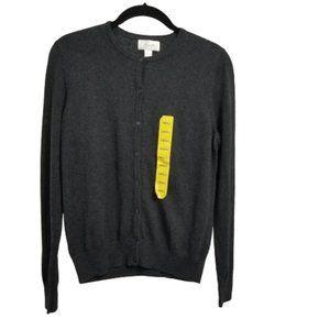 Foxcroft Sweater Men's Cardigan  Small NWT
